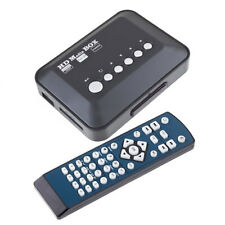 A33 1080p USB SD, MMC HDMI Av YPbPr multi TV media player box + mando a distancia IR