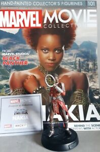 Marvel Movie Collection #101 Nakia Figurine (Black Panther) Eaglemoss English