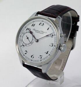1910 IWC International Watch Schaffhausen Marriage watch 16j movement Cal53H5