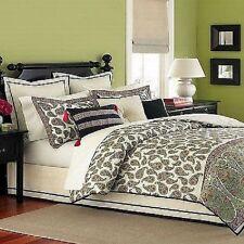 Martha Stewart Collection Paisley Florish 3 Piece Decorative Pillow Set -New