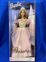 Princess Barbie Doll Pink Gown W/Tiara Blonde Hair  1999 Mattel -New Old Stock