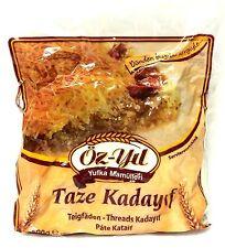 4 x 500g Frische Kadayif Teigfäden Engelshaar Künefe Taze Kadayif