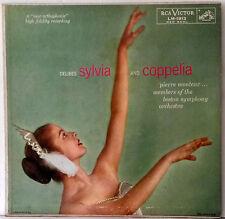 Delibes Sylvia/Coppelia Pierre Monteux Boston Symphony Ballet LP Sexy Ballerina