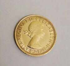 1967 QUEEN ELIZABETH II FULL GOLD SOVEREIGN