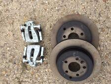 Freelander 2 diesel rear brake upgrade vented disc & 38 mm piston calipers