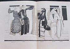 Mémoire instructif sur les modes Gazette du Bon Ton 1921 Pierre Mourgue