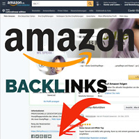 PR9 Backlink von AMAZON.de  inkl. Social Media Backlinks SEO Linkaufbau AGENTUR