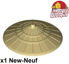Lego 1x Minifig hat Conical Asian chapeau chinois conique beige/tan 93059 NEUF
