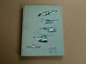HMS ARK ROYAL COMMISSION BOOK 1974-1976  ROYAL NAVY AIR CRAFT CARRIER SHIP