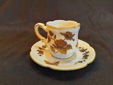 Estee Lauder Ice Palace Porcelain Collection Coffee Tea Cup Saucer Butterflies