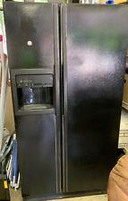 Ge Profile Refrigerator - Black French Door Fridge/Freezer