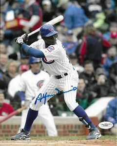 Alfonso Soriano Signed 8x10 Photo Autographed JSA COA Chicago Cubs