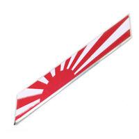 100mmx15mm Japan Japanese Rising Sun Flag Emblem Badge Car Motorcycle Sticker SR