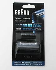 BRAUN Mens Shaver 10B 20B Foil & Cutter Series1 cruZer 170 180 190 1715 1735 190