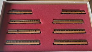 Con-Cor N Scale Illinois Central 'Panama Limited'  Limited Edition Set #8403