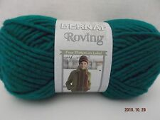 Bernat Roving Yarn ~ Teal #00203 ~ Wool Blend ~ #5 Bulky ~ 3.5 oz/100g ~ 120 yds