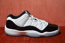 CLEAN Nike Air Jordan 11 Low Concord Size 7 7y 528896-153 Black White
