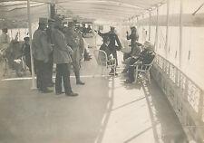 ROUMANIE C. 1922 - Officiers sur le Yacht de Roi de Roumanie  - GV468