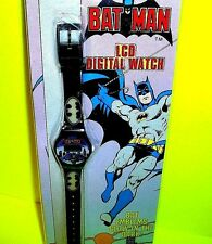BATMAN Action Figure Movies DC Comic Books Wrist Watch LCD Digital Glow-in-Dark