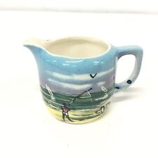 Port Lincoln S.A Hand Painted Miniature Jug Made in Australia Souvenirs #565