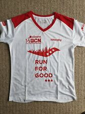 Women's Saucony Barcelona Half Marathon 2020 Technical T-shirt Running Top M 12