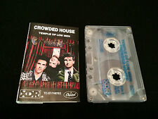 CROWDED HOUSE TEMPLE OF LOW MEN AUSTRALIAN CASSETTE TAPE