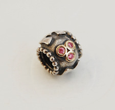 "Genuine Pandora two tone Charm ""Mum"" 790888CZS"