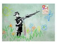 BANKSY - LIMITED EDITION #3 OF 35 * CRAYOLA SHOOTER *