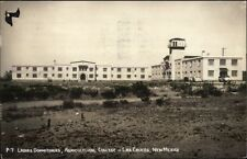 Las Cruces NM Agri College Real Photo Postcard rpx
