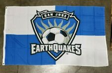 MAJOR LEAGUE SOCCER SAN JOSE EARTHQUAKES MLS TEAM FLAG BANNER