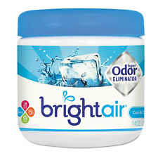 Bright Air Super Odor Eliminator Cool and Clean Blue 14oz 6/Carton 900090CT