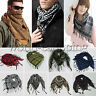 Unisex Army Military Tactical Arab Shemagh KeffIyeh Shawls tuch Scarf Check Wrap