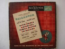 BRIGADOON CHERYL CRAWFORD 45 RECORD 5 RECORD SET ORIGINAL CAST RCA VICTOR