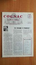 COGNAC action municipale n° 16 octobre 1984