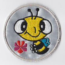 GIRL GUIDES (SCOUTS) OF HONG KONG - HK GG HAPPY BEE SILVER AWARD Patch