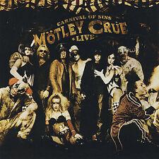 Mötley Crüe- Carnival of Sins: Live, Vols. 1-2 [PA] CD 2-Discs OOP Motley Crue