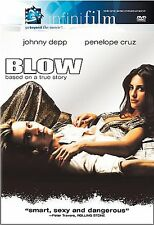 Blow (DVD, 2001) Johnny Depp, Penélope Cruz