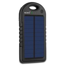 Cargador Solar Portatil De Viaje Celular Usb Emergencia Energia Banco Bateria