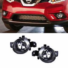 Driving Fog Light Lamp Set of 2 Pair for Nissan Altima Sentra Rogue Maxima