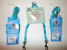 Sheppard & Greene Ferret - 2 Harness / Lead Sets+Tandem Coupler - Teal