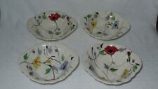 Blue Ridge Southern Potteries Chintz Cereal Bowls - Set of 4