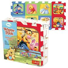 Trefl 8 Piece Baby Kids Infant Soft Foam Mat Winnie The Pooh Jigsaw Puzzle
