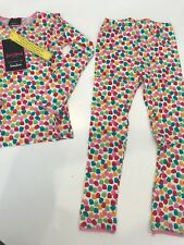 BEDHEAD NEIMAN MARCUS GUMDROP CANDY LONG JOHNS PJ's Pajamas SOFT 5 YR KIDS GIRLS