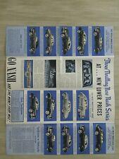 19. Nash AIRFLYTE Brochure / Poster: AMBASSADOR,STATESMAN,RAMBLER,Custom,Wagon,