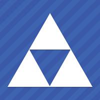 Zelda Triforce Vinyl Decal Sticker