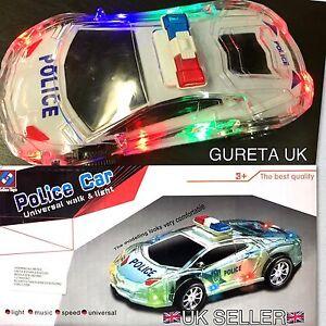 Kids Toy Police Car Universal Walk Glaring Led Wonderful Music Best Quality