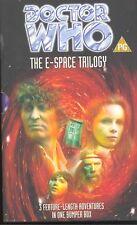 Doctor Who - E-Space Trilogy - BOX-SET VHS/PAL (1997) - *FREE UK POSTAGE*