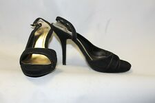 Ladies Black Dolcis Shoes Size 40 UK 7 Strappy Heels Party