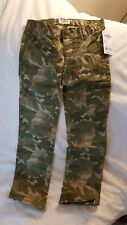 Nwt Oshkosh 98% Cotton Camo Pants, Boy Size 5