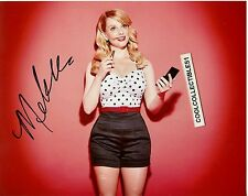 "MELISSA RAUCH ""THE BIG BANG THEORY"" IN PERSON SIGNED 8X10 COLOR PHOTO 1"